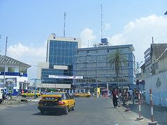 Douala Africa City - Bonanjo Douala Cameroun Business and financial district