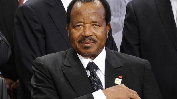 President of Cameroon, Paul Biya