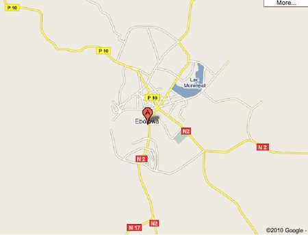 Ebolowa Maps - Maps of The  Evergreen Town of Ebolowa Cameroon