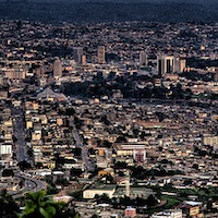 Yaounde, Capital of Cameroon Africa