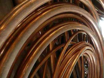 Copper Scrap Tubing