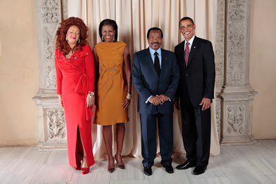 President Barack Obama and H.E. Paul Biya President of the Republic of Cameroon