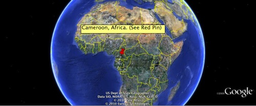 Where is Cameroon Africa Located