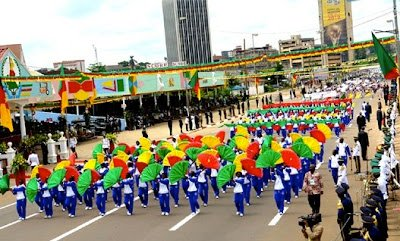 Cameroon Holiday - 20th May Cameroon National Day