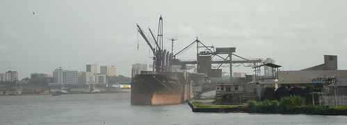 Tourism in Douala Africa city - Douala Cameroon maritime transport seaport