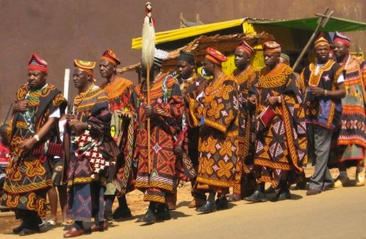 Cameroon clothing - traditional styles. Photo Courtesy: Eric Bjornson