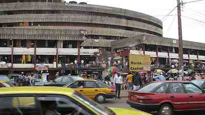 Yaounde market - Central Market  in Yaounde, Cameroon, Africa