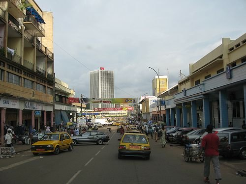 Yaounde Pictures - Yaounde Shopping District